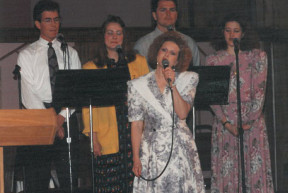 I was on the worship team!
